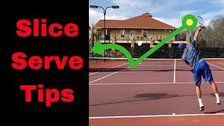 SLICE SERVE TIPS - Learn And Improve The Technique Of Your Slice Serve With This Easy Tips!