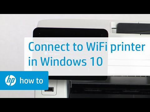 How To Connect an HP Wireless Printer with Windows 10: HP How To For You
