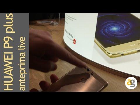 Huawei P9 plus live da Londra