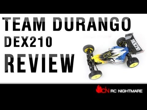 Team Durango DEX210 1/10 Scale RC Buggy Review