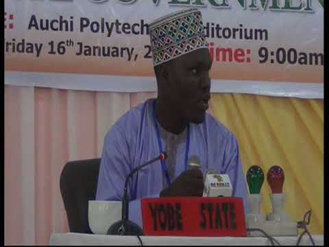 2015 Nigerian Musabaqa: Yobe Tangeem. Male Participant