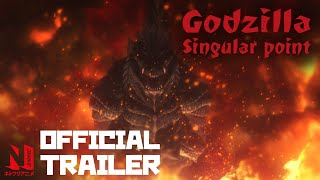 Godzilla Singular Point | Netflix Anime Official Trailer