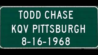 KQV Pittsburgh, PA, Todd Chase, August 16, 1968