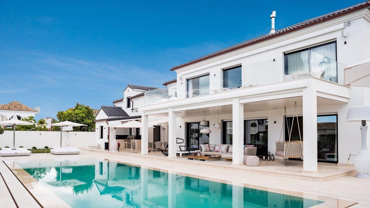 Magnifica, Elegante Villa moderna de lujo en Casablanca, Milla de Oro, Marbella
