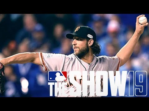 MLB The Show 19 PS4 Road to the Show - THE GIANTS ARE TOO MUCH!!