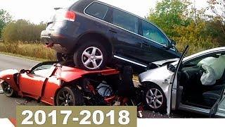 Большая Подборка АВАРИЙ и ДТП с Видеорегистратора 2017-2018 (Part 3)