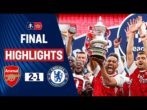 Aubameyang & Arteta Lead Arsenal to FA Cup Glory | Arsenal 2-1 Chelsea | Heads Up FA Cup Final 19/20