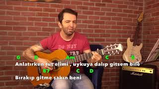 BANA BİR MASAL ANLAT BABA Akor, Arpej  Ve Ritim - Gitar Dersi