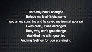 LYRICS : Without Us - Angel Haze