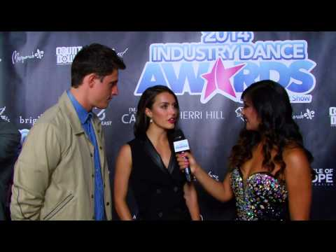 "2014 Industry Dance Awards Red Carpet - Film ""Dance-Off"" stars, Shane Harper Kathryn McCormick"