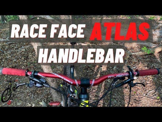 Видео Руль RaceFace Atlas, 35x820, Rise 35mm (Kash Money)