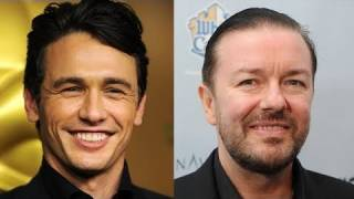 James Franco Vs Ricky Gervais - Oscars Drama (& How Did Anne Hathaway Do?) thumbnail
