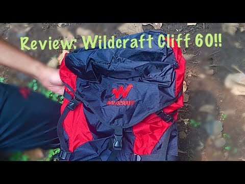 Review: Wildcraft Cliff 60, cheapest professional Wildcraft rucksack