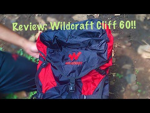Review: Wildcraft Cliff 60, cheapest professional Wildcraft rucksack