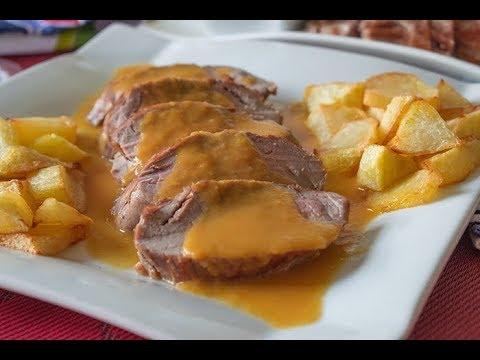 SOLOMILLO EN SALSA, fácil y con una salsa irresistible!