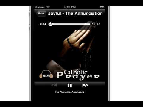 Video of Audio Catholic Prayer
