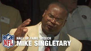 "Mike Singletary ""Winning"" Hall of Fame Speech | NFL Network"