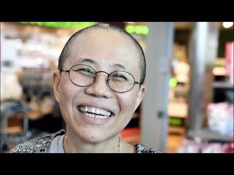 Widow of dissident Liu Xiaobo, Liu Xia arrives in Germany