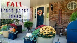 Fall Porch Décor 2019 - Decorate with Me