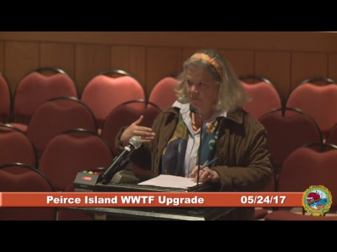 Peirce Island Wastewater Treatment Facility Upgrade 5.24.2017