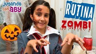 Mi RUTINA DE MAÑANA para el colegio 🎃 Especial Halloween