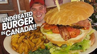 Undefeated K2 Mountain Burger Challenge on Vancouver Island!!