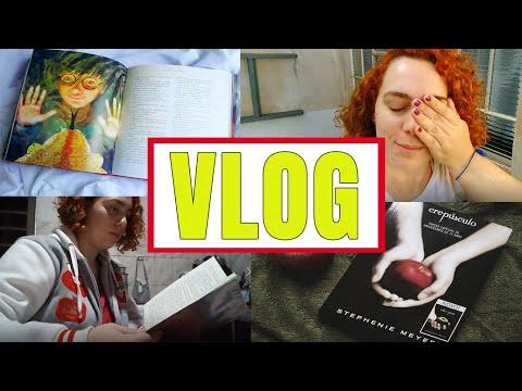 VLOG #5 - RELENDO CREPÚSCULO E HARRY POTTER | Baú Literário