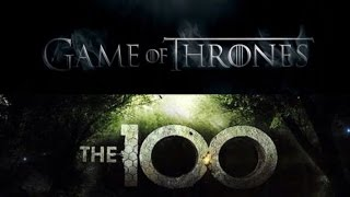 The 100 opening credits- Game of Thrones style