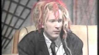 JOHNNY ROTTEN  rare! late night chat! 1988 (ITV Show) john lydon pil 'Video View' the sex pistols