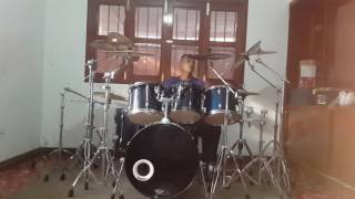 "Judas Priest: Rock You All Around The World ""Drum Cover"""