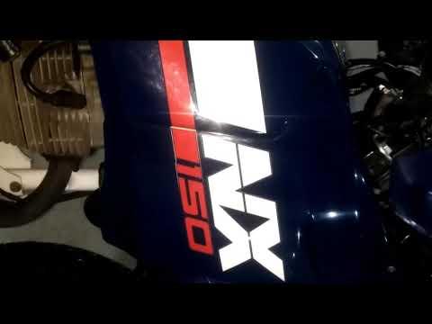 Nx 150 relíquia com apenas 21 mil km original de fábrica a venda zap 986045120