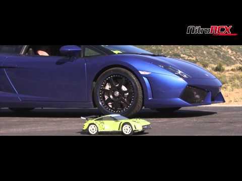 R/C Car vs 550hp Lamborghini Gallardo LP 550-2