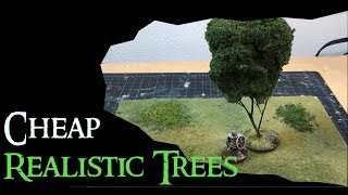 Cheap and Realistic Trees for Wargaming