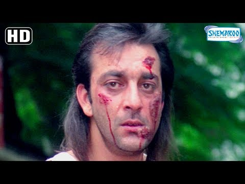Best Of Sanjay Dutt [Sanju] scenes from Andolan - 90's Superhit Hindi Movie - Govinda - Somy Ali