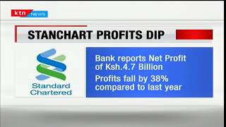 Standard Chartered Bank posts a drop in net profit by 38%