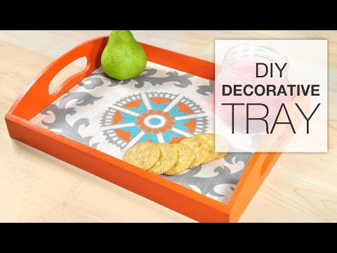 DIY Fabric Tray Tutorial