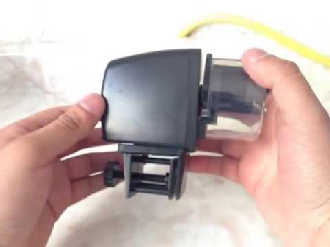 Alimentador Automático de Peces Acuario o Pecera