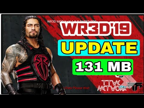 Wr3d Wwe 2k19 Mod by Mangal yadav||New moves||Go anywhere