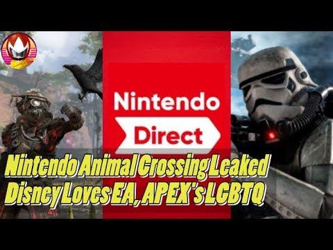 Nintendo Direct Leak, APEX Legends LGBTQ, Disney Loves EA's Star Wars - NYM Recap