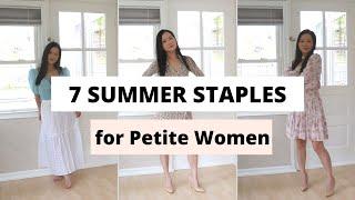 Petite Fashion Tips- Summer Staple For Short Women