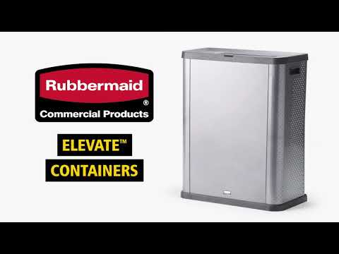 Product video for Elevate™ Landfill 23 Gal Pearl Dark Gray