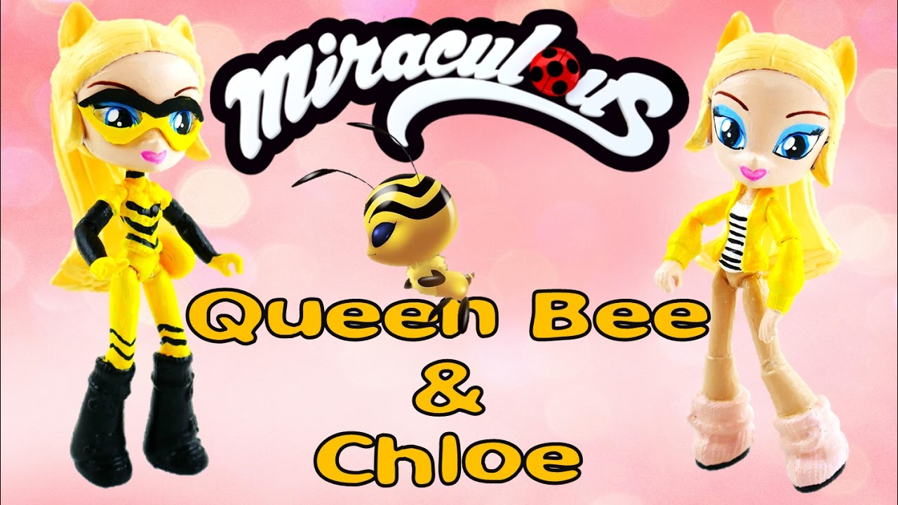 Is CHLOE QUEEN BEE GIRL in Season 2 Miraculous Ladybug Action Figure Doll | Evie's Toy House