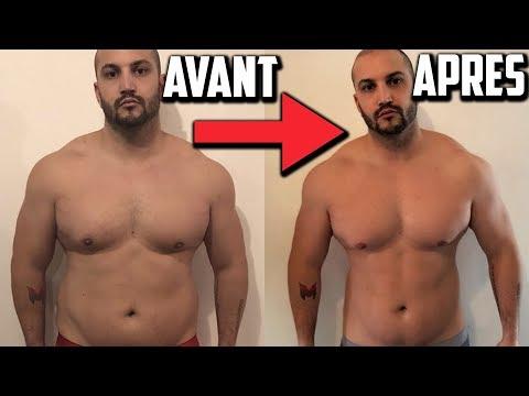 Tractions pour perdre la graisse du ventre