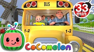 Wheels on the Bus + More Nursery Rhymes & Kids Songs - CoComelon