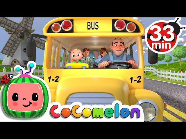 Wheels on the Bus   +More Nursery Rhymes & Kids Songs - CoCoMelon