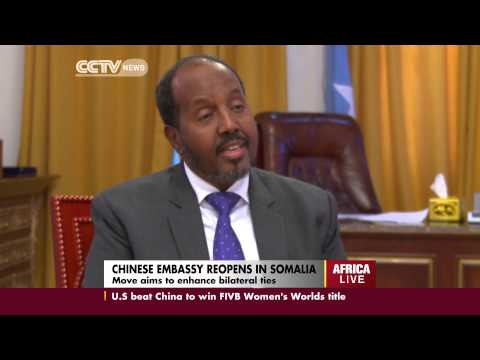 Interview with Somali President Hassan Sheikh Mohamud