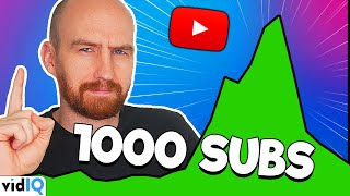 How to Get Your First 1000 Subscribers By Making These Videos