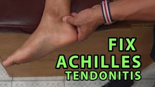 """How to Fix Achilles Tendonitis In """"4 Minutes"""""""