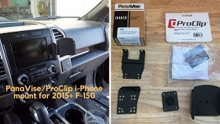 PanaVise - ProClips iPhone mount for 2015+ F-150