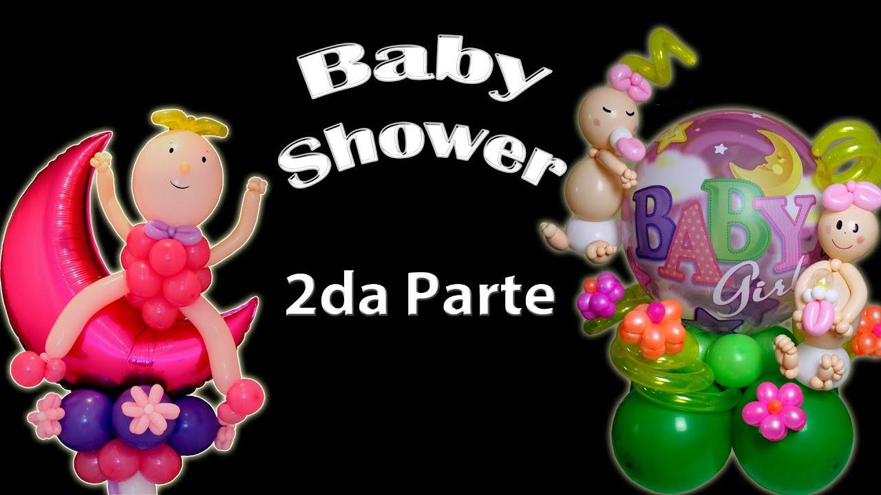 Centro de Mesa para Baby Shower Parte 2